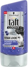 Kup Ekstramocny żel do włosów - Schwarzkopf Taft Looks Titan Look Power Gel No Stickness-No Residues
