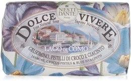 Kup Naturalne mydło w kostce Jaśmin, słupki krokusa i niebieski hiacynt - Nesti Dante Dolce Vivere Lago di Como