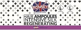 Kup Ampułki wygładzające włosy - Ronney Professional Hair Ampoules Intensive Silk Regenerating
