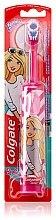 Kup Elektryczna supermiękka szczoteczka do zębów dla dzieci, Barbie, różowo-biała - Colgate Electric Motion Barbie