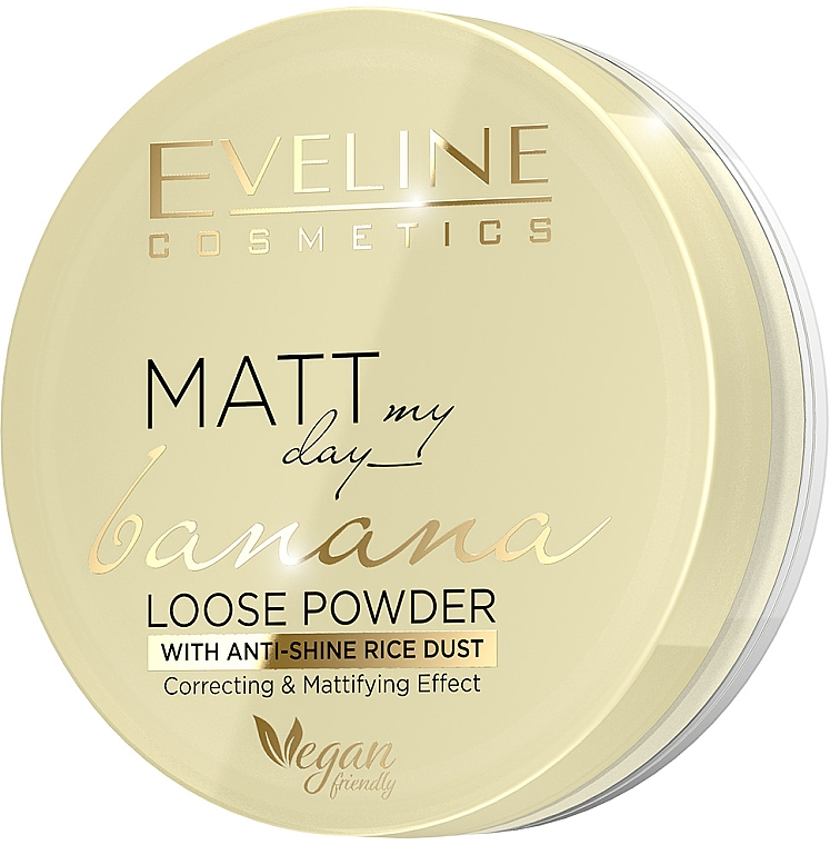 Sypki puder bananowy - Eveline Cosmetics Matt My Day
