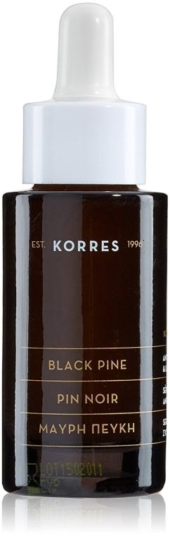 Przeciwzmarszczkowe serum do twarzy - Korres Black Pine Antiwrinkle, Firming & Lifting Serum — фото N2
