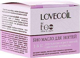 Kup Bioolejek do paznokci 3 w 1 - ECO Laboratorie Lovecoil