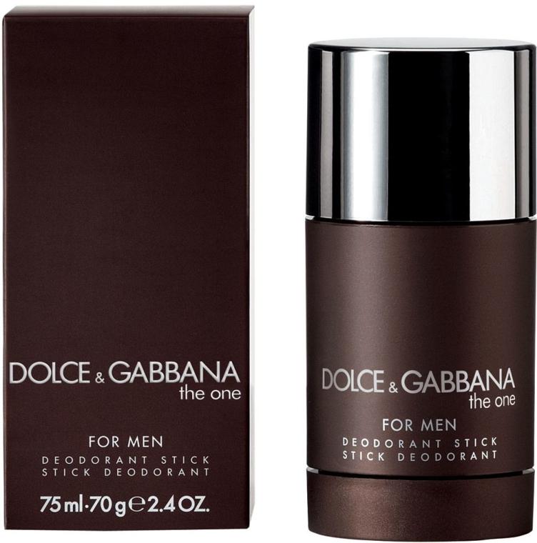 Dolce & Gabbana The One For Men - Dezodorant w sztyfcie — фото N1