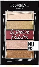 Kup Paletka cieni do powiek - L'Oreal Paris La Petite Palette Nudist Eyeshadow