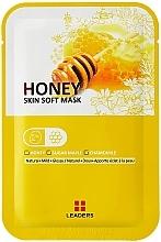 Kup Maseczka ultranawilżająca na twarz i szyję - Leaders Labotica Skin Soft Mask Honey