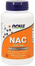 Suplement diety NAC, 600 mg - Now Foods NAC Veg Capsules — фото N1