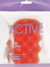 Kup Peelingująca gąbka do kąpieli Pomarańczowa - Suavipiel Active Esponja Extra Peeling