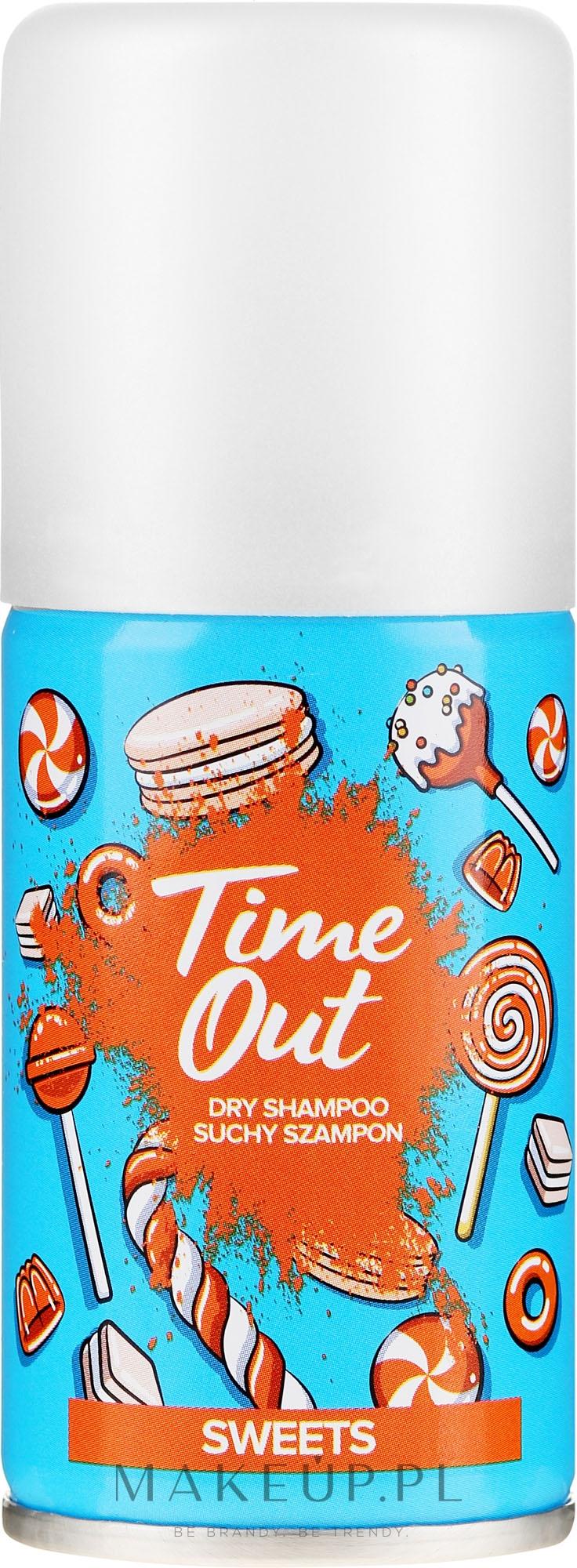 Suchy szampon do włosów Słodycze - Time Out Sweets — фото 75 ml
