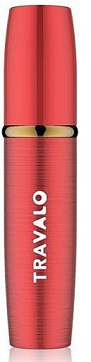 Atomizer do perfum - Travalo Lux Red Refillable Spray — фото N1