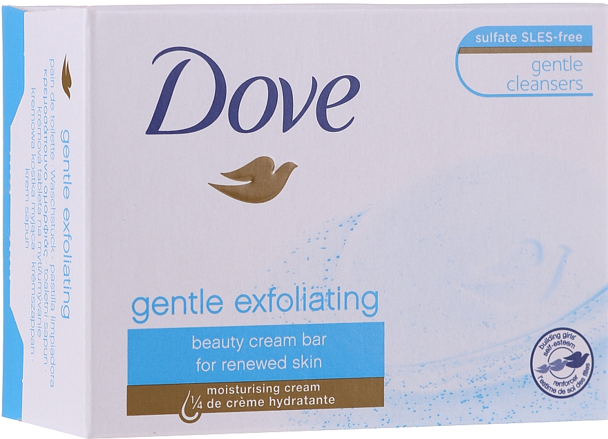 Kremowa kostka myjąca - Dove Gentle Exfoliating
