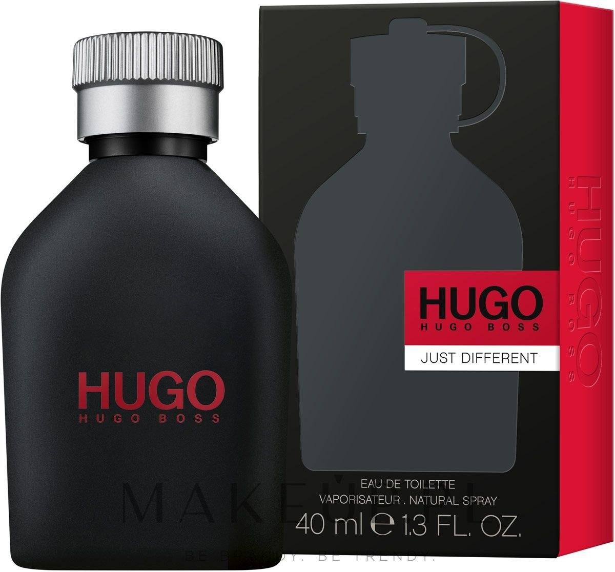 Hugo Boss Just Different - Woda toaletowa — фото 40 ml