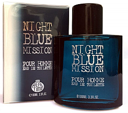 Kup Real Time Night Blue Mission Pour Homme - Woda toaletowa