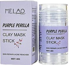 Kup Glinkowa maska w sztyfcie do twarzy Pachnotka - Melao Purple Perilla Clay Mask Stick