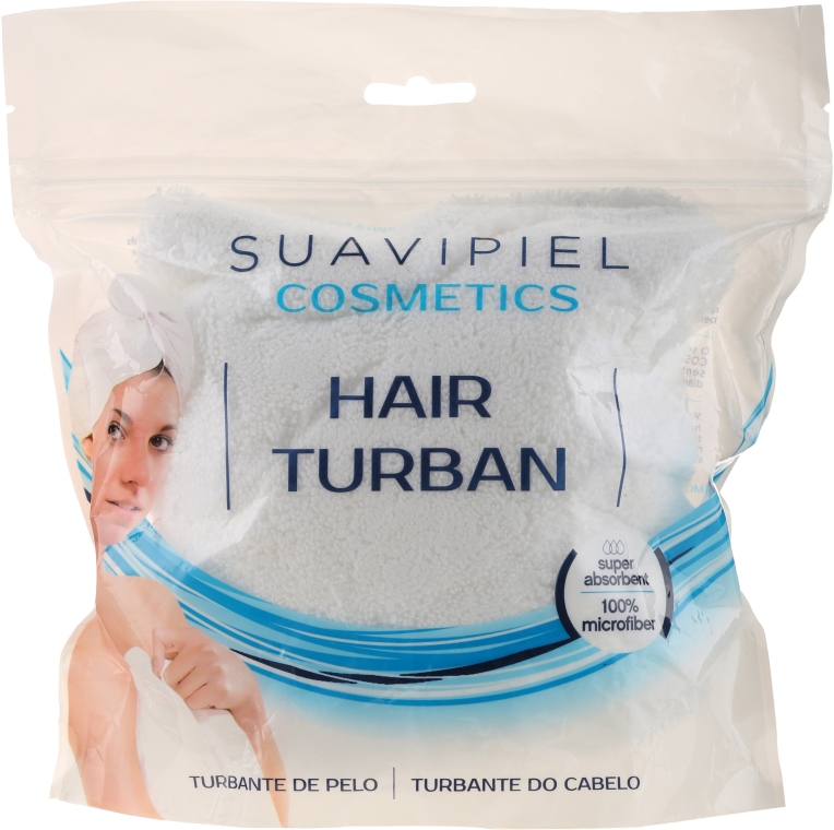Turban do włosów - Suavipiel Cosmetics Hair Turban