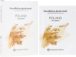 Kup PRZECENA! Odżywczo-nawilżająca maseczka w płachcie z bionanocelulozy do twarzy - Calluna Medica Poland *