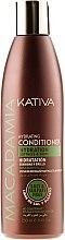 Kup Nawilżająca odżywka do zniszczonych włosów - Kativa Macadamia Hydrating Conditioner
