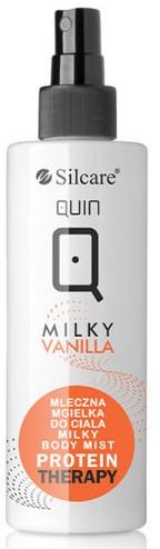 Mleczna mgiełka do ciała Milky Vanilla - Silcare Quin Protein Therapy Body Milky Mist — фото N1