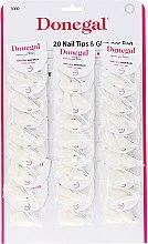 Kup Zestaw sztucznych paznokci - Donegal Nail Tips & Glue