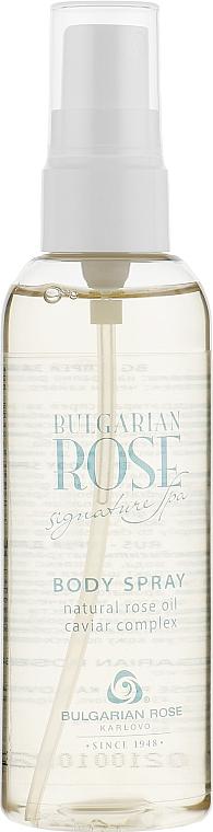 Mgiełka do ciała z naturalnym olejkiem różanym - Bulgarian Rose Signature Spa — фото N2