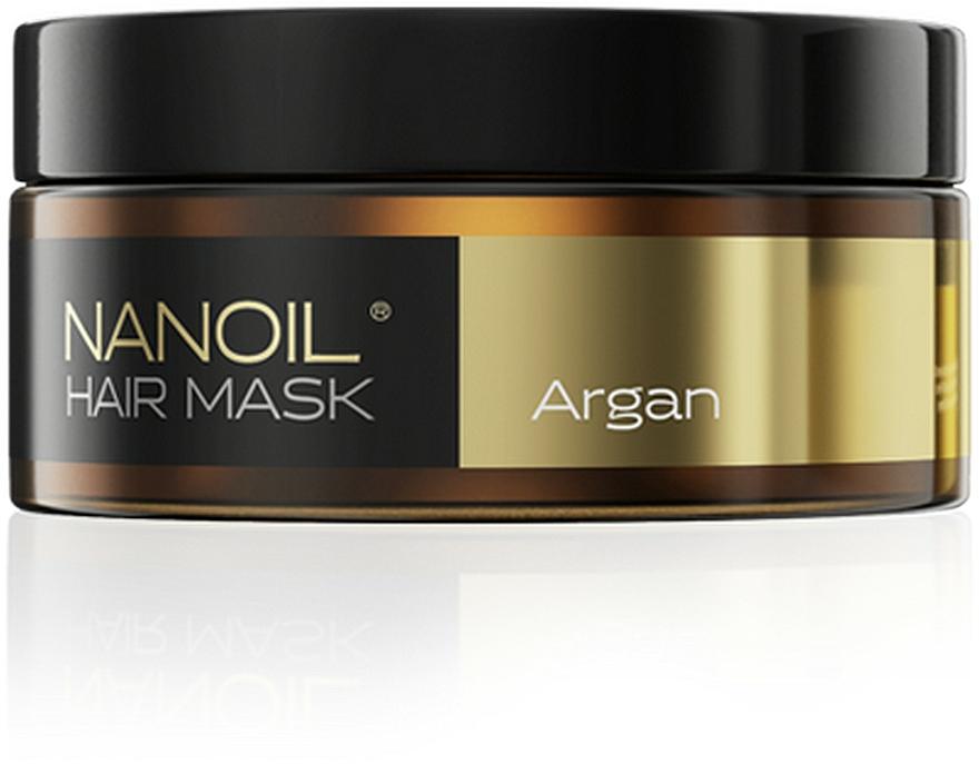 Maska do włosów z olejem arganowym - Nanoil Argan Hair Mask
