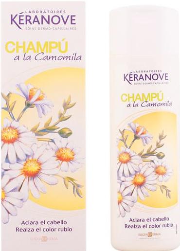 Szampon do włosów - Eugene Perma Keranove Camomile Shampoo — фото N1