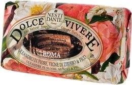 Kup Naturalne mydło w kostce Kwiat oleandra, muskat i figa - Nesti Dante Dolce Vivere Roma