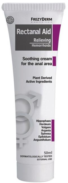 Krem łagodzący objawy hemoroidów - FrezyDerm Rectanal Aid Shooting Cream — фото N1