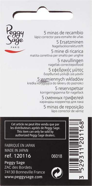 Kredka do korekty lakieru do paznokci - Peggy Sage Nail Lacquer Correction Pencil — фото N2