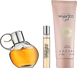 Azzaro Wanted Girl - Zestaw (edp 80 ml + b/lot 100 ml + edp 7,5 ml) — фото N2