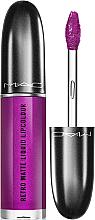 Kup Matowy płynna szminka z metalicznym wykończeniem - MAC Retro Matte Liquid Lipcolour Metallics
