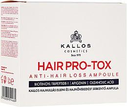 Kup Ampułki przeciw wypadaniu włosów oraz pobudzające ich wzrost - Kallos Cosmetics KJMN Hair Pro-Tox Anti-Hair Loss Ampoule