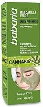 Kup Oczyszczająca maska do twarzy - Babaria Cannabis