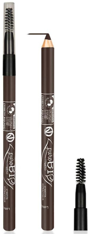Kredka do oczu i brwi - PuroBio Cosmetics Eye & Eyebrow Pencil — фото N1