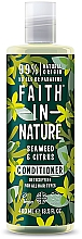 Kup Odżywka do każdego rodzaju włosów Wodorosty i cytrusy - Faith in Nature Hair Conditioner Seaweed Citrus