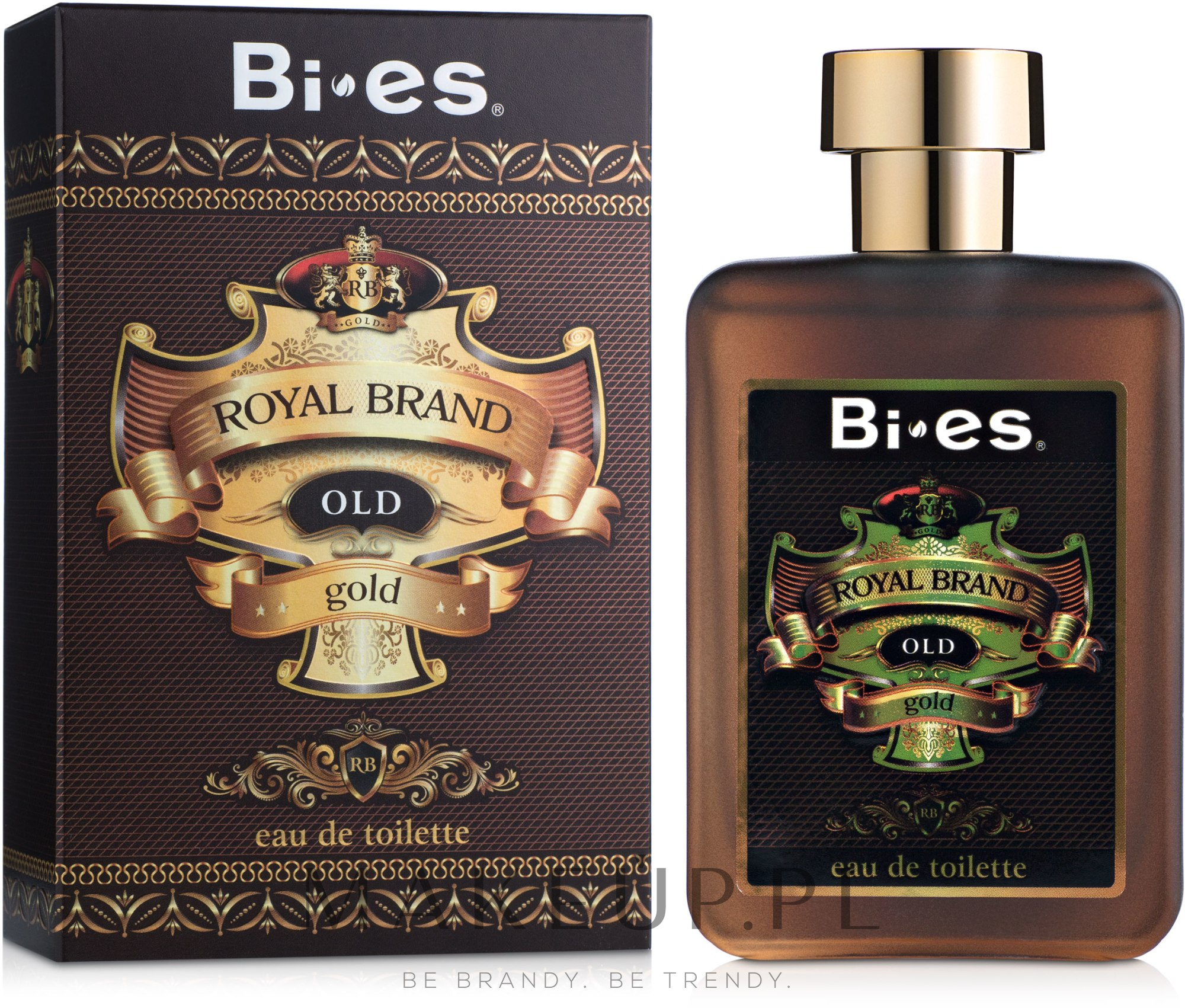 bi-es royal brand old gold