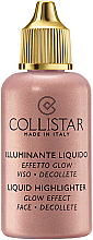 Rozświetlacz - Collistar Liquid Highlighter Glow Effect Face Decollete — фото N4