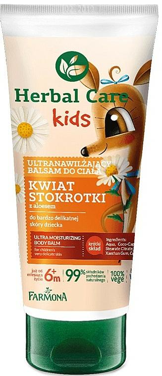 Ultranawilżający balsam do ciała dla dzieci Kwiat stokrotki - Farmona Herbal Care Kids  — фото N1