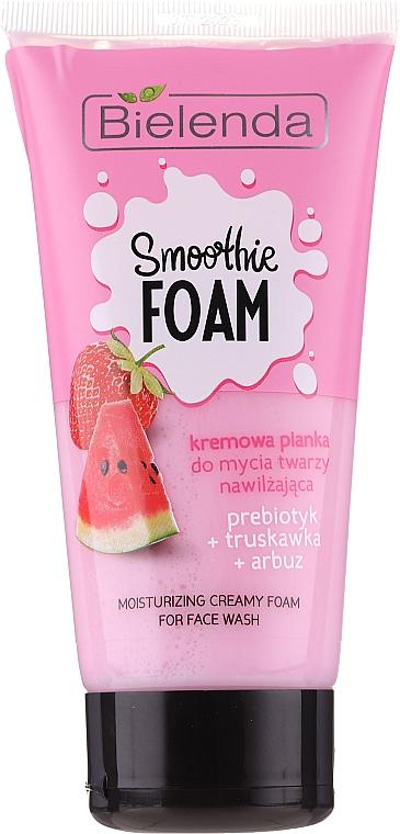 Nawilżająca kremowa pianka do mycia twarzy - Bielenda Smoothie