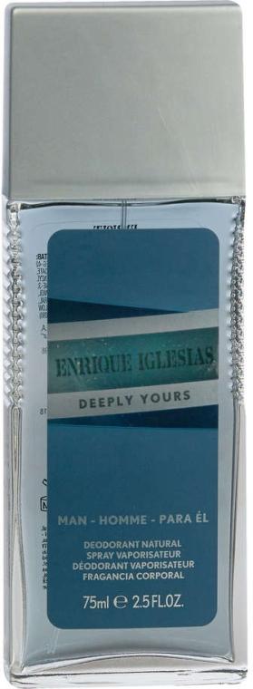 Enrique Iglesias Deeply Yours for Him - Perfumowany dezodorant w atomizerze dla mężczyzn