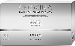 Kup Kuracja dla kobiet stymulująca odrastanie włosów i zapobiegająca ich wypadaniu 1900 - Crescina Hair Follicular Island Re-Growth Anti-Hair Loss Complete Treatment 1900 Woman