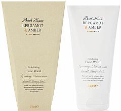 Kup PRZECENA! Bath House Bergamot & Amber - Pianka do mycia twarzy *