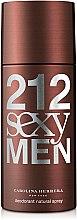 Kup Carolina Herrera 212 Sexy Men - Perfumowany dezodorant w sprayu