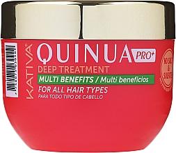 Kup Maska do włosów zniszczonych farbowaniem - Kativa Quinua PRO Deep Treatment