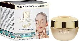 Kup Kapsułki multiwitaminowe do pielęgnacji skóry twarzy - Health And Beauty Multi-Vitamin Capsules For Face