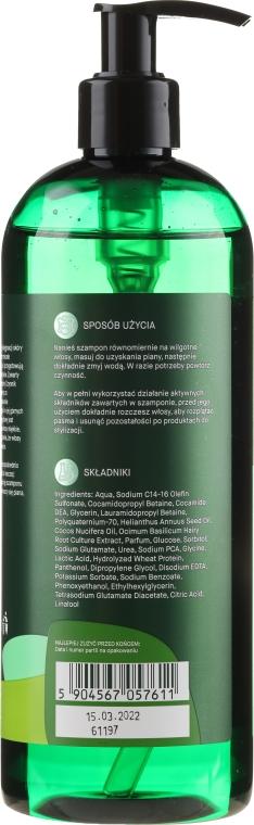 Wzmacniający szampon przeciw wypadaniu włosów Ekstrakt z bazylii + NMF - _Element Basil — фото N4