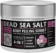 Kup Peeling do ciała z solą z Morza Martwego - Yofing Dead Sea Salt Body Peeling Sorbet