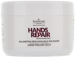 Kup Galaretka peelingująca - Farmona Professional Hands Repair Brzoskwiniowe dłonie