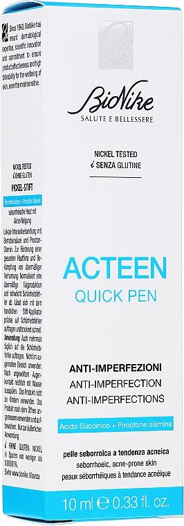 Balsam do twarzy - BioNike Acteen Quick Pen  — фото N2