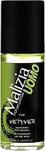 Kup Perfumowany dezodorant w sprayu dla mężczyzn - Malizia Uomo Vetyver Natural Deodorant Spray